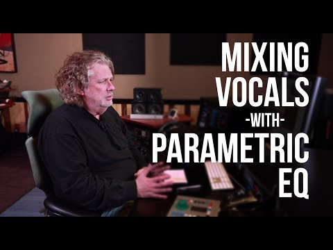 Vocals - Mix Engineer Dave Pensado shows you techniques using the bandwidth of your parametric EQ's that can be used to achieve better sounding vocals in the mix. Sub...
