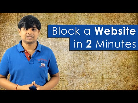 How to Block a Website in all Web Browsers