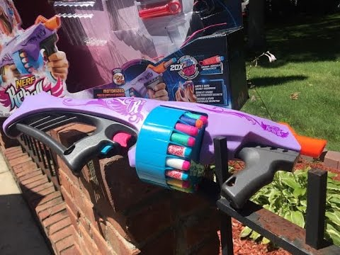 """Honest Review: The Nerf Rebelle Fearless Fire (Semi-Auto """"Rebellicade"""")"""