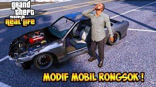 Video SULTAN MODIF MOBIL RONGSOK JADI MOBIL DRIFT !! || GTA 5 MOD DUNIA NYATA (GTA 5 REAL LIFE) MP3, 3GP, MP4, WEBM, AVI, FLV Maret 2019