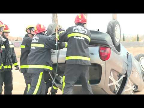 26/02/2015 Simulacro de un Accidente Protagonizado por el grado de Enfermería de la UCAM,