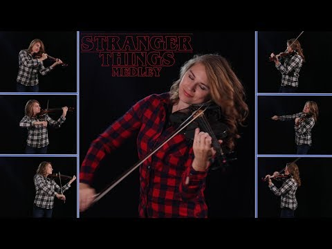 Stranger Things Violin Medley by Taylor Davis