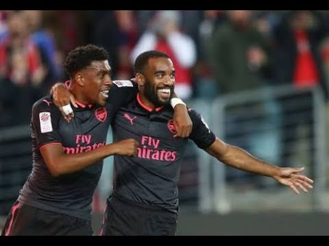 Alexandre Lacazette Debut Arsenal vs Sydney FC 2017 Highlights