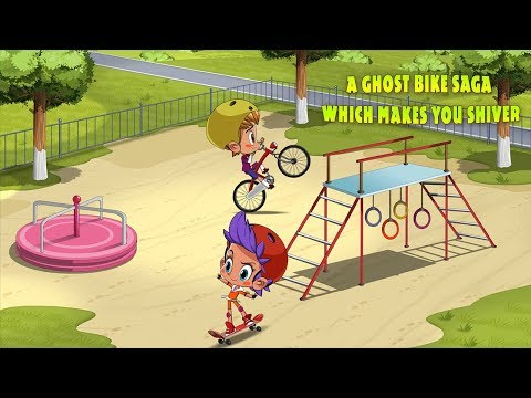 Masha's Spooky Stories - A Ghost Bike Saga Which Makes You Shiver