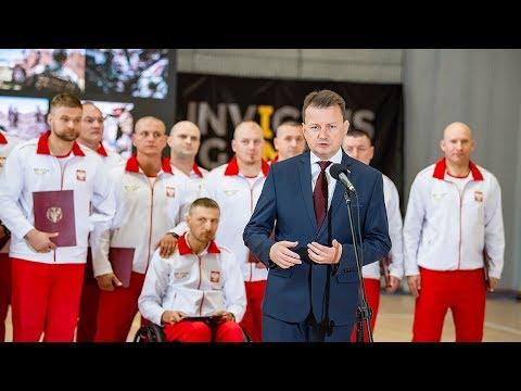 Jesteście ludźmi niezwykłymi - wypowiedź ministra Mariusza Błaszczaka