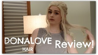 Finally got around to reviewing this lovely wig from donalovehair for my Daenerys cosplay! Seriously though, their wigs are almost too good to be true.
