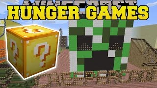 Minecraft: NOTCH LAND HUNGER GAMES - Lucky Block Mod - Modded Mini-Game