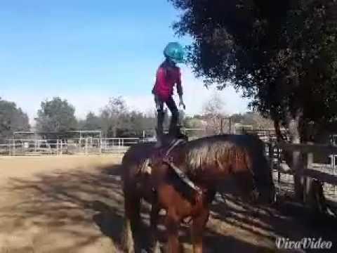Logann & JP trick riding 1/2015