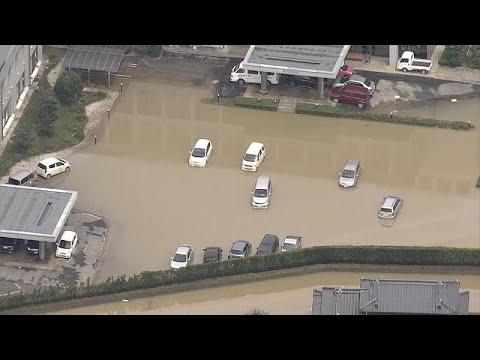 Japan: Regenfälle sorgen für Überschwemmungen