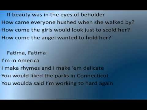 Tekst piosenki K'naan - Fatima po polsku