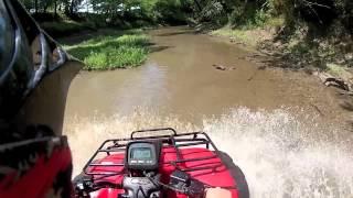 3. 2004 Honda Rubicon Creek Riding