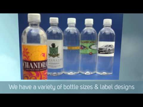 Promotional Bottled Water Video