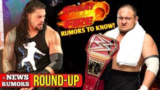 """Favorites To Win TONIGHT At Great Balls Of Fire, POTENTIAL SPOILERS, #WWEGBOF, + More! [#WWE News/Rumors Round Up #164]...Elbow Drop The """"LIKE"""" 👍🏼 & Turn ON Notifications! 🛎►http://www.wrestlecrate.com/Use Promo code - MACHOT To Get 10% OFF Discount Of Your 1st Crate!More NEW Episodes Of WWE News & Rumors Throughout The Week.► Follow Me!• Twitter - https://twitter.com/MachoT_YT💪 JOIN ME! HELP ME REACH ➡️50,000⬅️ SUBSCRIBERS!SUBSCRIBE! For WWE 2K Games + WWE News & Rumors!► For WWE News/Rumors & WWE 2K17 Content, Updates, & Tutorials • SUBSCRIBE! - https://www.youtube.com/c/DRsMachoTChannel Description:• All Things WWE & WWE 2K Games. Multiple News & Rumors Round-Up Episodes throughout the week, keeping you guys up to date on all the News & Rumors in Wrestling, leading up to Raw, Smackdown, NXT, & PPVs like Wrestlemania! Also WWE 2K18 News, Content & More!Thank You For Watching!- Macho T"""