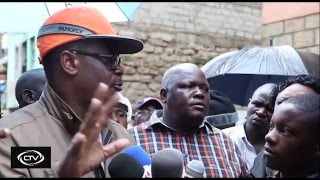 Kidero admits corruption to blame for Huruma house tragedy