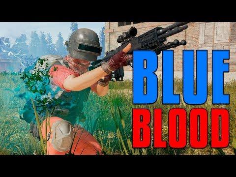 ENEMIES BLEEDING BLUE?! | PUBG (видео)
