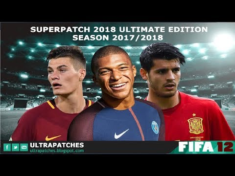 FIFA 2012 PATCH FIFA 2018 - Pro Team Patch Season 2017/2018 (PC-HD)
