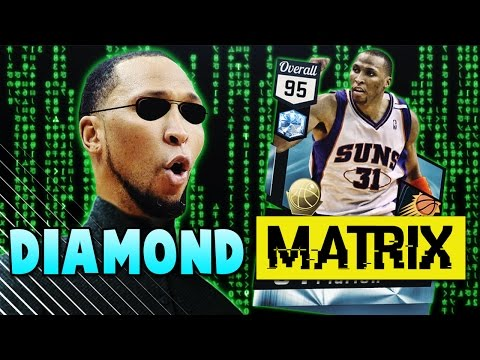 DIAMOND PLAYOFFS SHAWN MARION CARRIES OUR TEAM!! | NBA 2K17 MyTEAM Gameplay (видео)