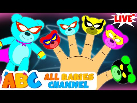 🔴  ABC   Superhero Finger Family, Kids Songs And Much More By All Babies Channel