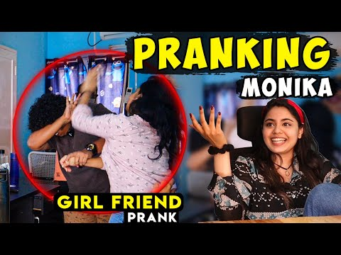 Pranking Actress Monica | Girl Friend Prank | Irfan's View