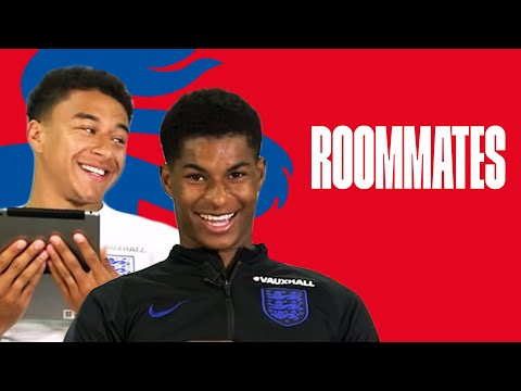 Rashford's Worst Habit and Lingard's Sporting Hero | Lingard and Rashford | Roommates