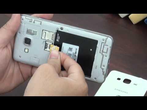 Hướng dẫn tháo lắp sim và thẻ nhớ trên Samsung Galaxy Grand Prime G530 | www.thegioididong.com