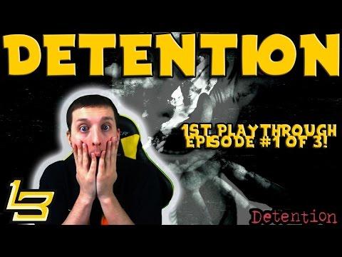 Detention Playthrough (Episode 1) Horror Game! (видео)