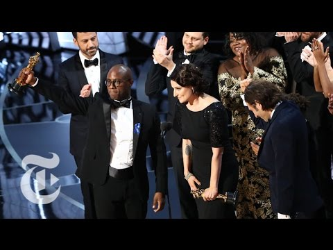Moonlight Wins Best Picture | The New York Times