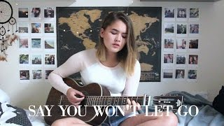 Say You Won't Let Go - James Arthur / Cover by Jodie Mellor Video