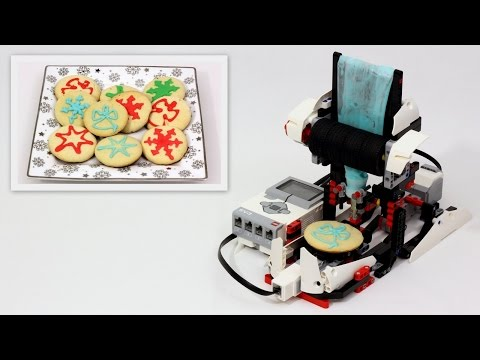 Automatic LEGO Cookie Icing Machine