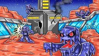 Minecraft | MARS BASE CHALLENGE - Save the World! (Mars Aliens Attack)