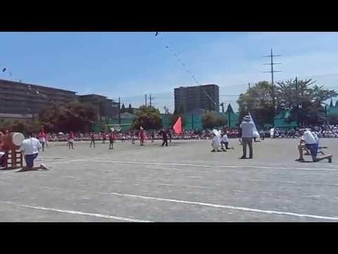 土気南小学校平成27年度の運動会:応援合戦