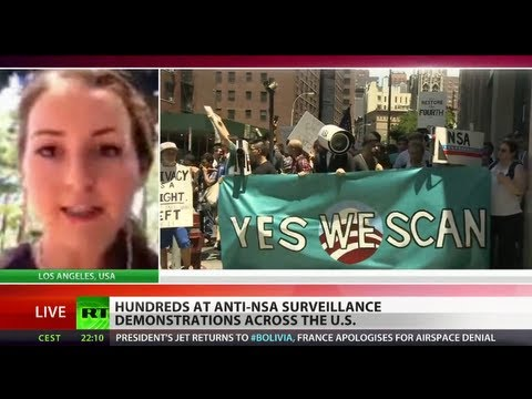 Fourth - An anti-NSA surveillance nationwide protest and online campaign was triggered on Thursday. It aimed to restore the Fourth Amendment of the Bill of Rights, wh...