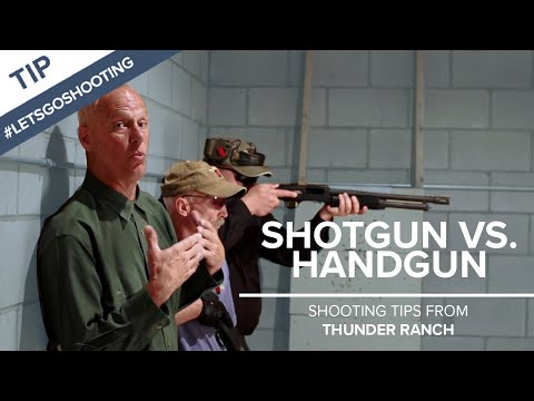 Shotgun vs. Handgun for Personal Defense in the Home – Thunder Ranch