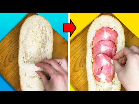 Sandwich Recipes : Ham & Cheese Sandwich Recipe - Thời lượng: 4 phút, 42 giây.