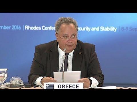 Ξεκίνησαν οι εργασίες της Διάσκεψης της Ρόδου για την Ασφάλεια και την Σταθερότητα
