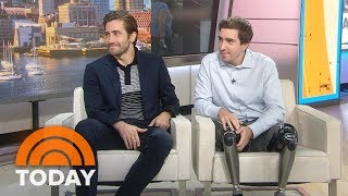 Nonton Jake Gyllenhaal And Jeff Bauman Talk About Inspiring New Film    Stronger      Today Film Subtitle Indonesia Streaming Movie Download