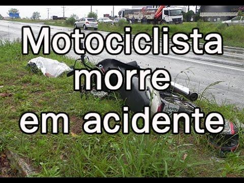 Motociclista morrem em acidente nesta sexta-feira