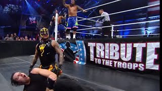 Video The Shield vs. Rey Mysterio & The Usos: Tribute to the Troops 2013 MP3, 3GP, MP4, WEBM, AVI, FLV Juni 2019