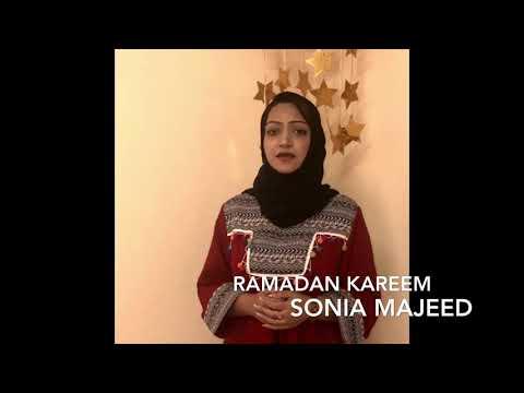 Sonia Majeed - Ramadan Kareem 2018