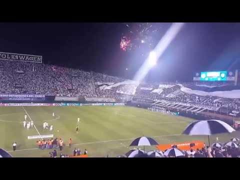 Recibimiento Hinchada de Olimpia Vs Huachipato Copa Sudamericana - 12/08/2015 - La Barra del Olimpia - Olimpia - Paraguay - América del Sur