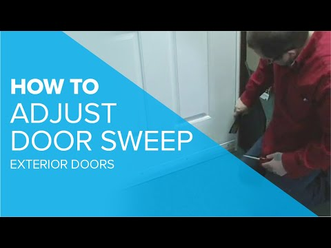 Door Sweep Adjustment