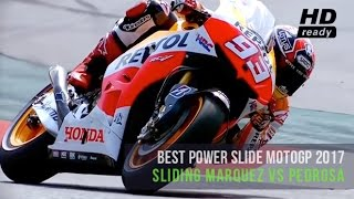 Video Awesome Sliding Skill Marquez vs Pedrosa | Slow Motion MP3, 3GP, MP4, WEBM, AVI, FLV September 2018