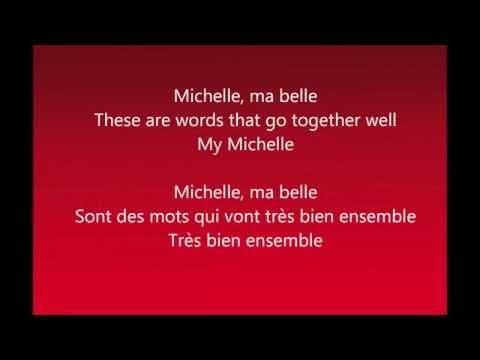 The Beatles - Michelle (Lyrics)