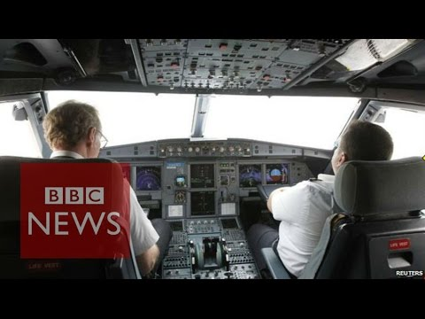 This is how the co-pilot locked the pilot out of the cockpit on Germanwings flight #4U9525. [1:02]