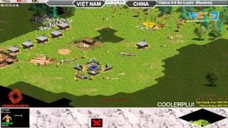 Valove vs Sơ Luyến Random 19/7/2015   Trận 1, game đế chế, clip aoe, chim sẻ đi nắng, aoe 2015