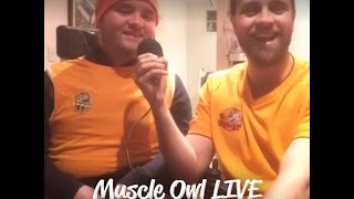 Muscle Owl LIVE: Go Orange for a Day Special! (27th January 2017)