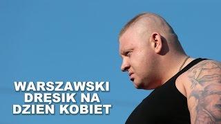 Aż mu szczena opadła! Warszawski dresik takiego tekstu na dzień kobiet to się nie spodziewał!