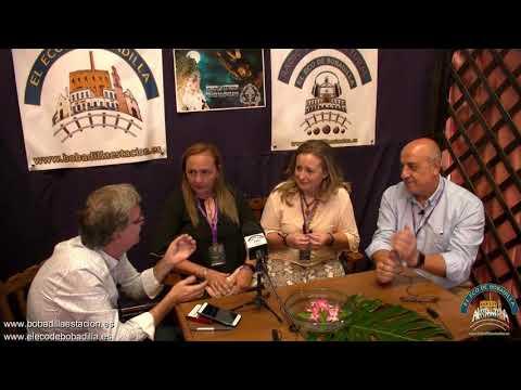 Entrevista a la Presidenta de La Entidad Local Autónoma de Bobadilla Estación en la V Feria Expocofrade de Bobadilla Estación