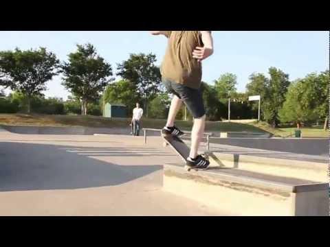 Walker skatepark in Arkansas
