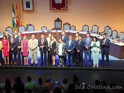 Pleno de Constitución del Ayuntamiento de Isla Cristina